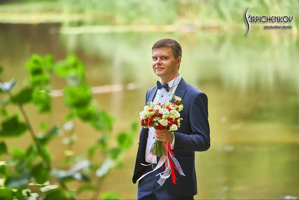 Свадьба на природе возле частного дома с выездной церемонией - фото №44