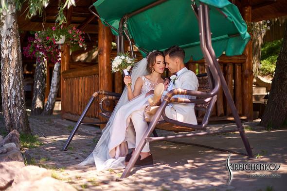 Свадебные фото на территории Соби Клаб, выездная церемония - фото №38