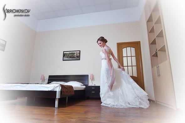 Свадебные фото в каньоне Буки и выездная церемония в ресторане Фортеця - фото №15