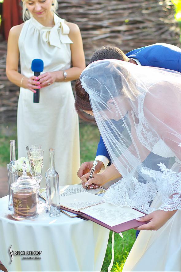 Свадебные фото на Мануфактуре и выездная церемония в ресторане Kidev - фото №82