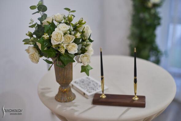 Свадебные фото в Оранжерее в Киеве, студийная сьемка в фотостудии Счастье - фото №23