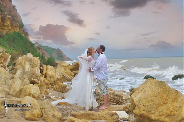 Свадебные фото на море в Одессе, фото в Оперном театре и на маковом поле - фото №58