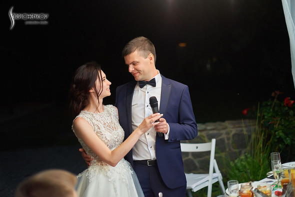 Свадьба на природе возле частного дома с выездной церемонией - фото №101