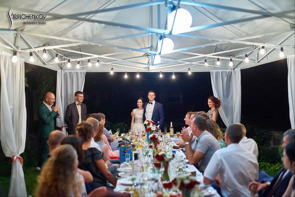 Свадьба на природе возле частного дома с выездной церемонией - фото №102