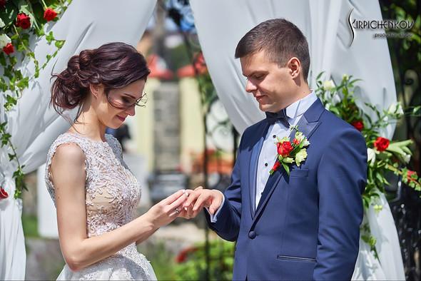 Свадьба на природе возле частного дома с выездной церемонией - фото №23