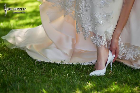 Свадьба на природе возле частного дома с выездной церемонией - фото №7
