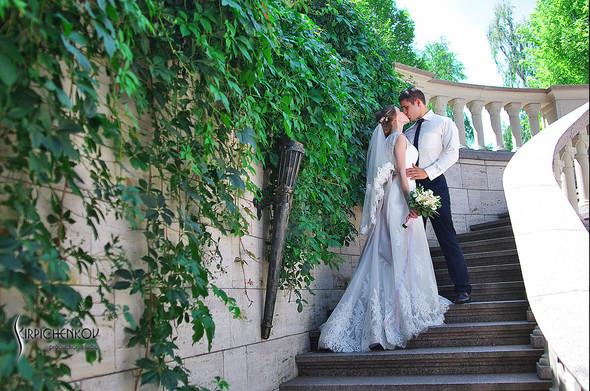 Свадебные фото в каньоне Буки и выездная церемония в ресторане Фортеця - фото №62