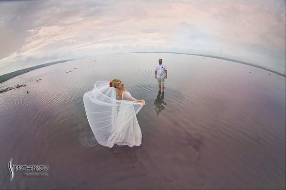 Свадебные фото на море в Одессе, фото в Оперном театре и на маковом поле - фото №29