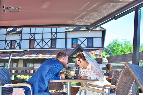 Свадебные фото на Мануфактуре и выездная церемония в ресторане Kidev - фото №60