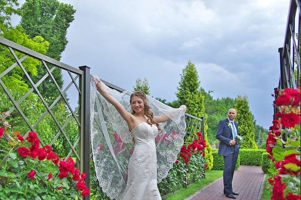Свадебная фотосьемка в Межигорье - фото №33