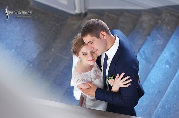 Свадебные фото в каньоне Буки и выездная церемония в ресторане Фортеця - фото №29
