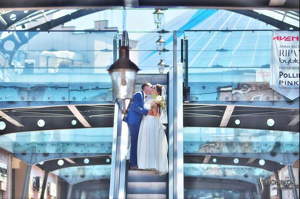 Свадебные фото на Мануфактуре и выездная церемония в ресторане Kidev - фото №47