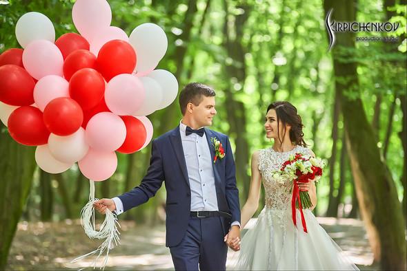 Свадьба на природе возле частного дома с выездной церемонией - фото №49