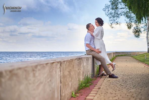 Свадебные фото в Сухолучье, Киевское море и сьемка в поле  - фото №37