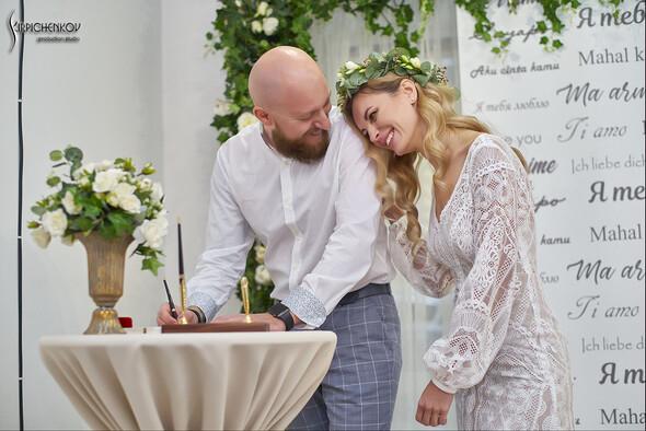 Свадебные фото в Оранжерее в Киеве, студийная сьемка в фотостудии Счастье - фото №29
