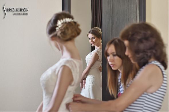 Свадебные фото в каньоне Буки и выездная церемония в ресторане Фортеця - фото №10
