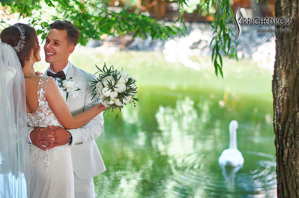 Свадебные фото на территории Соби Клаб, выездная церемония - фото №29