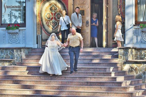 Свадебные фото на Мануфактуре и выездная церемония в ресторане Kidev - фото №70