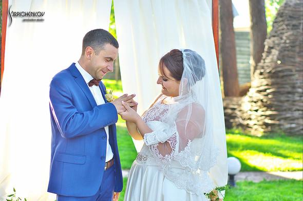 Свадебные фото на Мануфактуре и выездная церемония в ресторане Kidev - фото №81