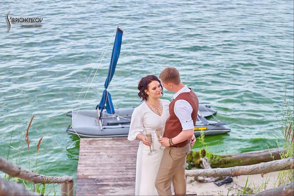 Свадебные фото в Сухолучье, Киевское море и сьемка в поле  - фото №2