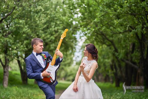 Свадьба на природе возле частного дома с выездной церемонией - фото №60