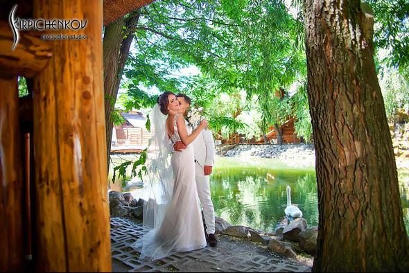 Свадебные фото на территории Соби Клаб, выездная церемония - фото №30
