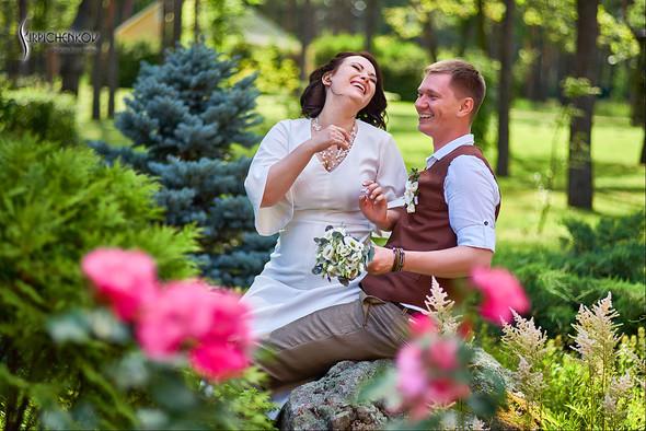 Свадебные фото в Сухолучье, Киевское море и сьемка в поле  - фото №30