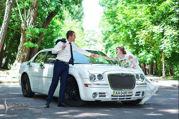 Свадебные фото в каньоне Буки и выездная церемония в ресторане Фортеця - фото №32