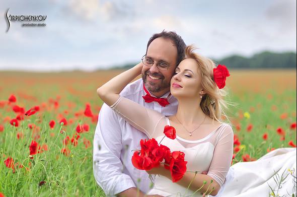 Свадебные фото на море в Одессе, фото в Оперном театре и на маковом поле - фото №44