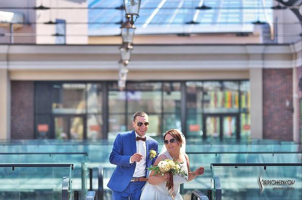 Свадебные фото на Мануфактуре и выездная церемония в ресторане Kidev - фото №50