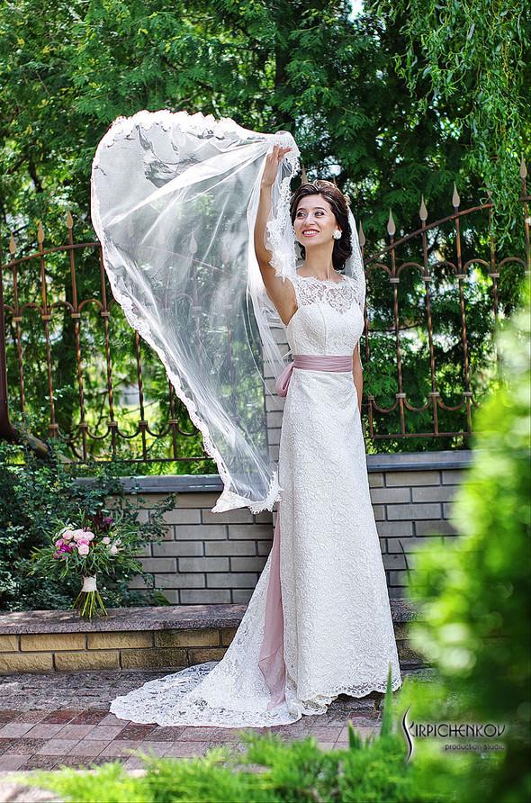 Свадебные фото в яблочном саду, г. Чернигов - фото №32