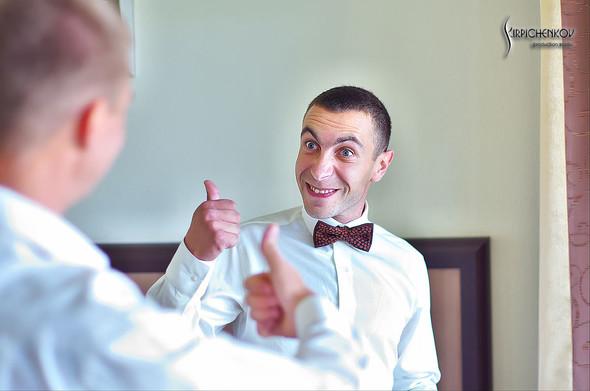 Свадебные фото на Мануфактуре и выездная церемония в ресторане Kidev - фото №7