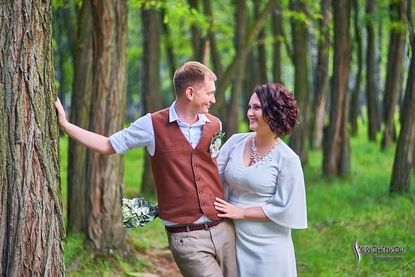 Свадебные фото в Сухолучье, Киевское море и сьемка в поле  - фото №25