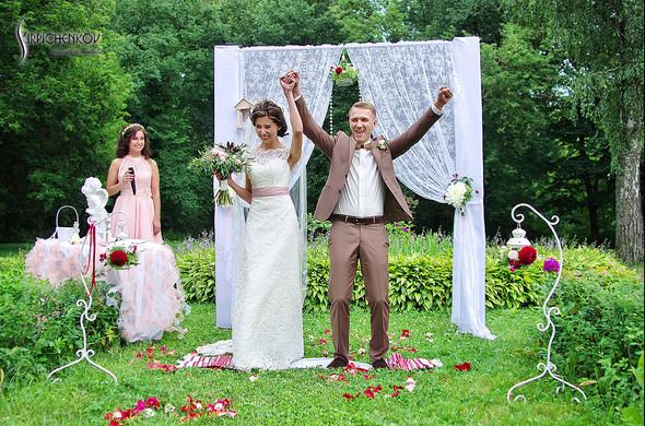 Свадебные фото в яблочном саду, г. Чернигов - фото №52
