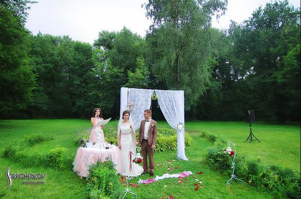 Свадебные фото в яблочном саду, г. Чернигов - фото №60