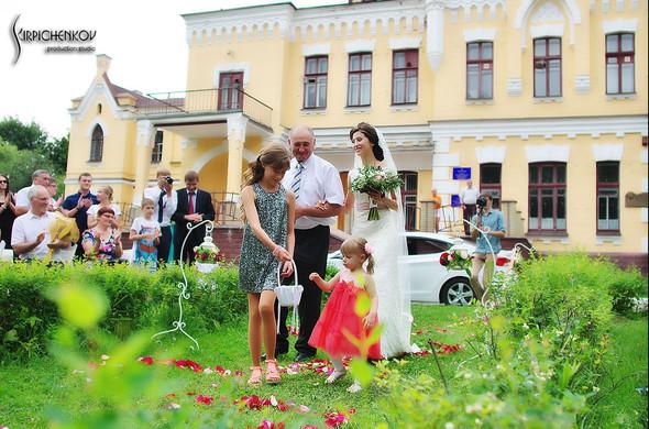 Свадебные фото в яблочном саду, г. Чернигов - фото №51