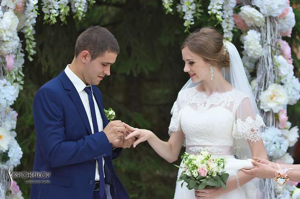 Свадебные фото в каньоне Буки и выездная церемония в ресторане Фортеця - фото №81