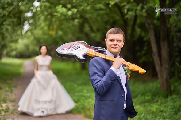 Свадьба на природе возле частного дома с выездной церемонией - фото №62