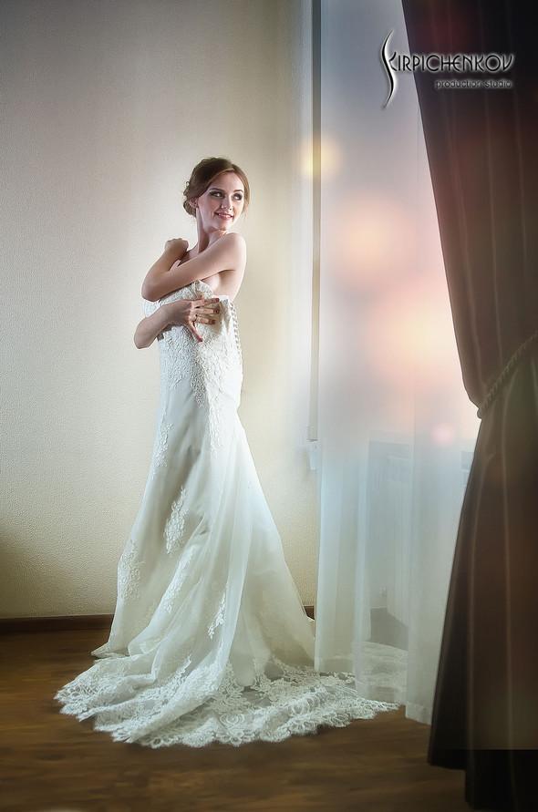 Свадебные фото в каньоне Буки и выездная церемония в ресторане Фортеця - фото №9