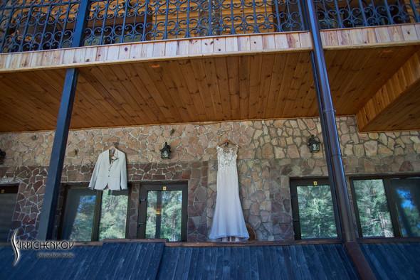 Свадебные фото на территории Соби Клаб, выездная церемония - фото №8