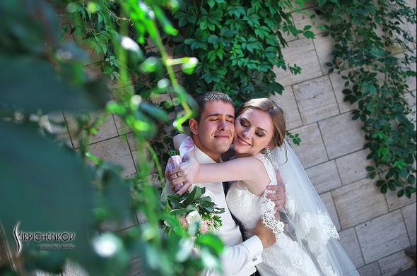 Свадебные фото в каньоне Буки и выездная церемония в ресторане Фортеця - фото №64