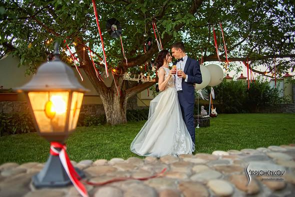 Свадьба на природе возле частного дома с выездной церемонией - фото №93
