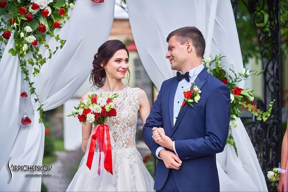 Свадьба на природе возле частного дома с выездной церемонией - фото №18
