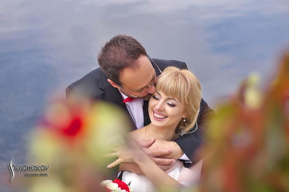 Свадебные фото на море в Одессе, фото в Оперном театре и на маковом поле - фото №21