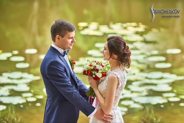 Свадьба на природе возле частного дома с выездной церемонией - фото №42