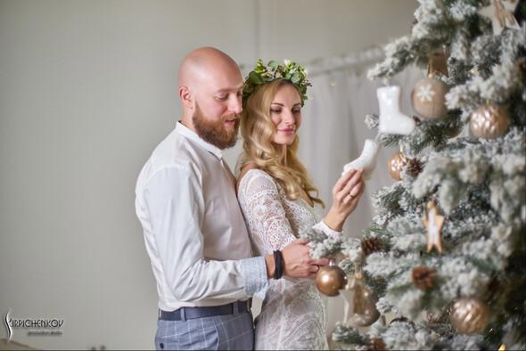 Свадебные фото в Оранжерее в Киеве, студийная сьемка в фотостудии Счастье - фото №34
