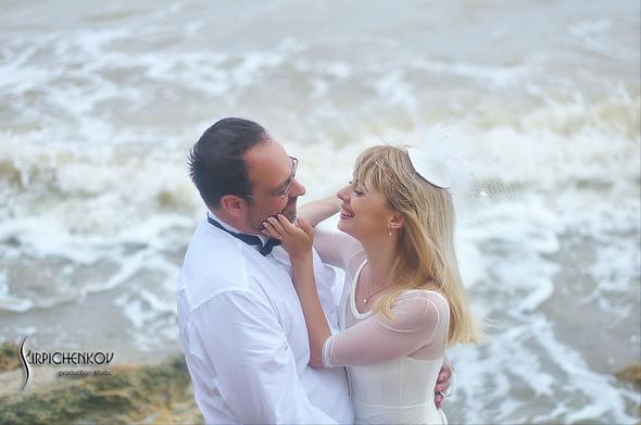 Свадебные фото на море в Одессе, фото в Оперном театре и на маковом поле - фото №63