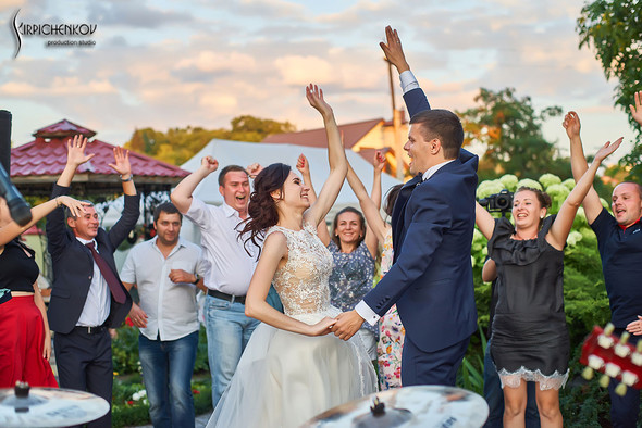 Свадьба на природе возле частного дома с выездной церемонией - фото №88