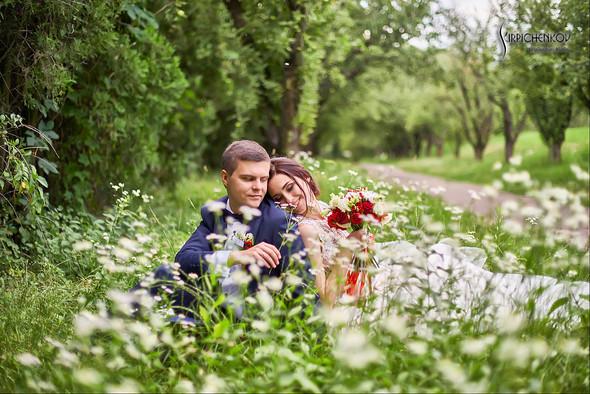 Свадьба на природе возле частного дома с выездной церемонией - фото №68