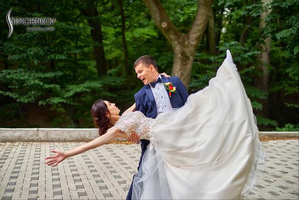 Свадьба на природе возле частного дома с выездной церемонией - фото №52